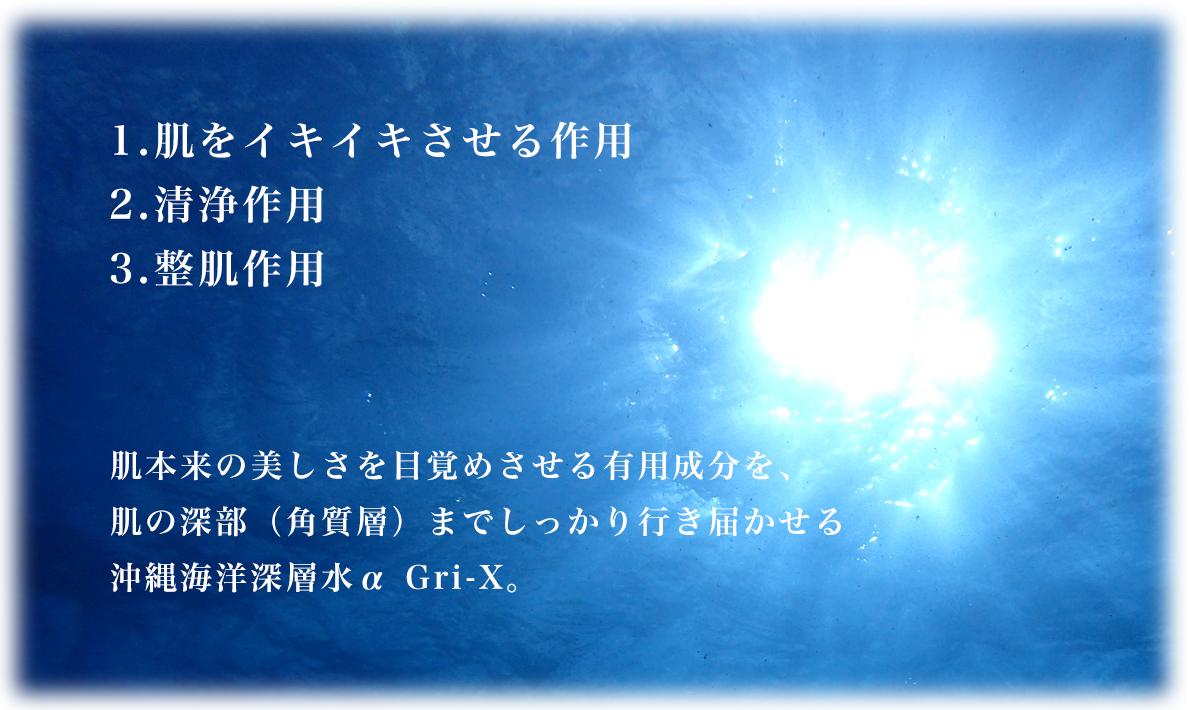 〜 α Gri-Xの3大作用 〜